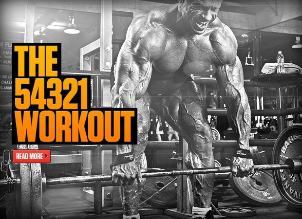 54321 workout - Hybrid workout - hybrid weight training